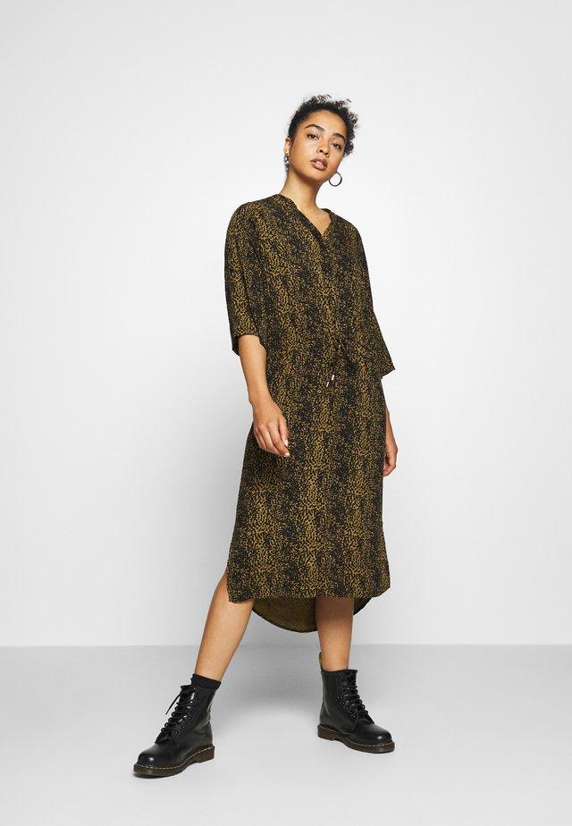ZAYA DRESS - Maxi-jurk - olive
