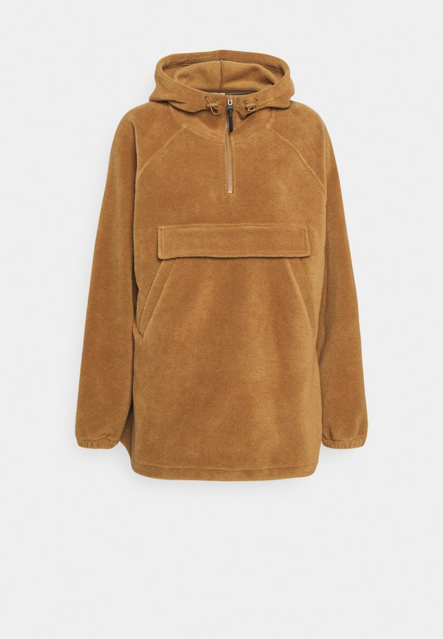 POLAR FLEECE ANORAK - Giacca sportiva - brown