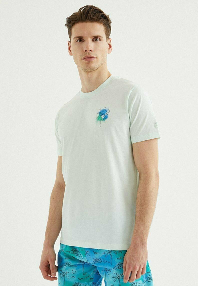 Homme PALM - T-shirt imprimé