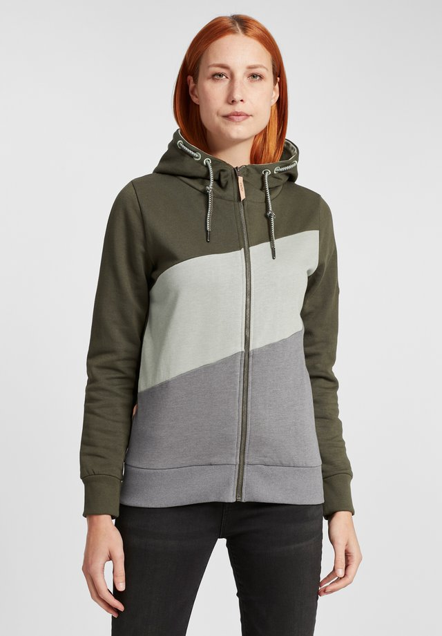 AGGI - Zip-up hoodie - forest night