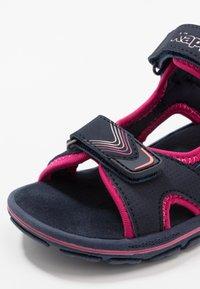 Kappa - SHIPLAKE - Sandales de randonnée - navy/pink - 2