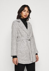 New Look Petite - COLLAR COAT - Kåpe / frakk - mid grey - 3