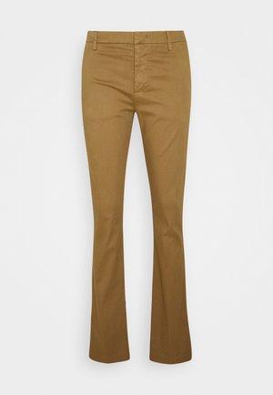 PANTALONE AMELIE - Trousers - camel