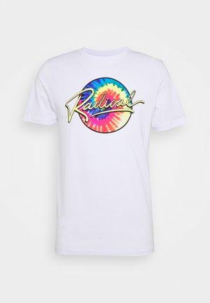 JORBILLY TEE CREW NECK - T-Shirt print - white