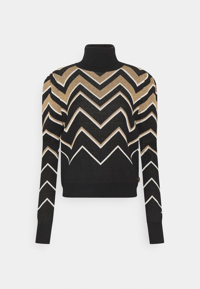 TWINSET - Pullover - nero/neve
