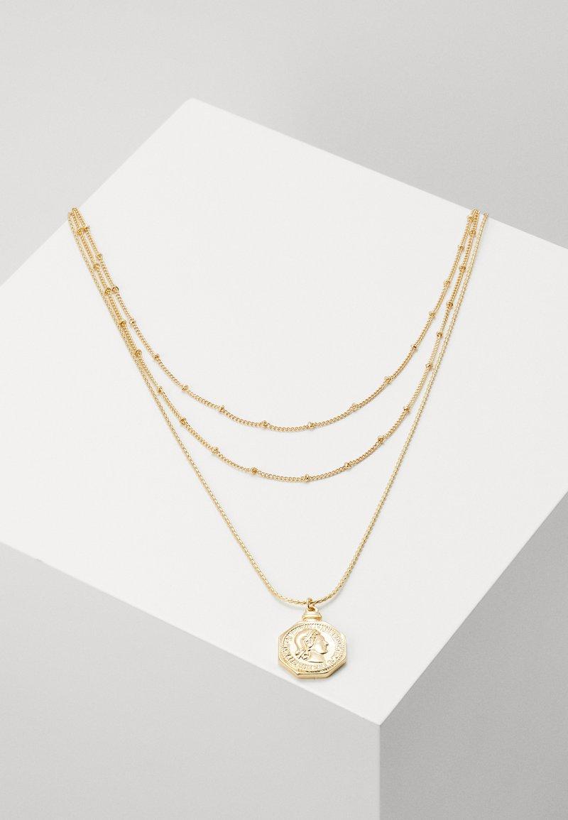 Pieces - PCLIZZA COMBI NECKLACE - Necklace - gold-coloured