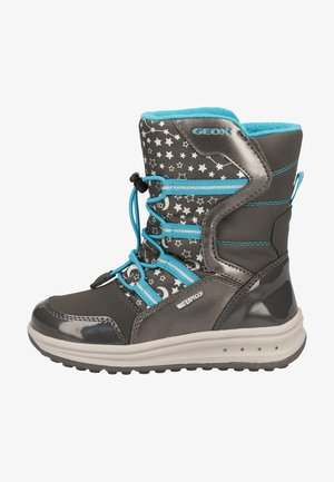 ROBY GIRL WPF - Winter boots - dk grey/azure c0250