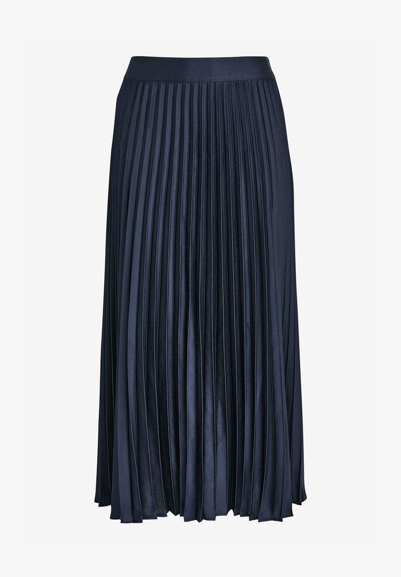 Next - A-line skirt - dark blue