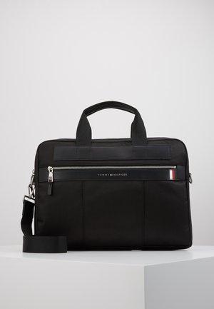 ELEVATED NYLON COMPUTER BAG - Laptop bag - black