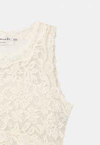 Rosemunde - SLEEVELESS - Koktejlové šaty/ šaty na párty - ivory - 2