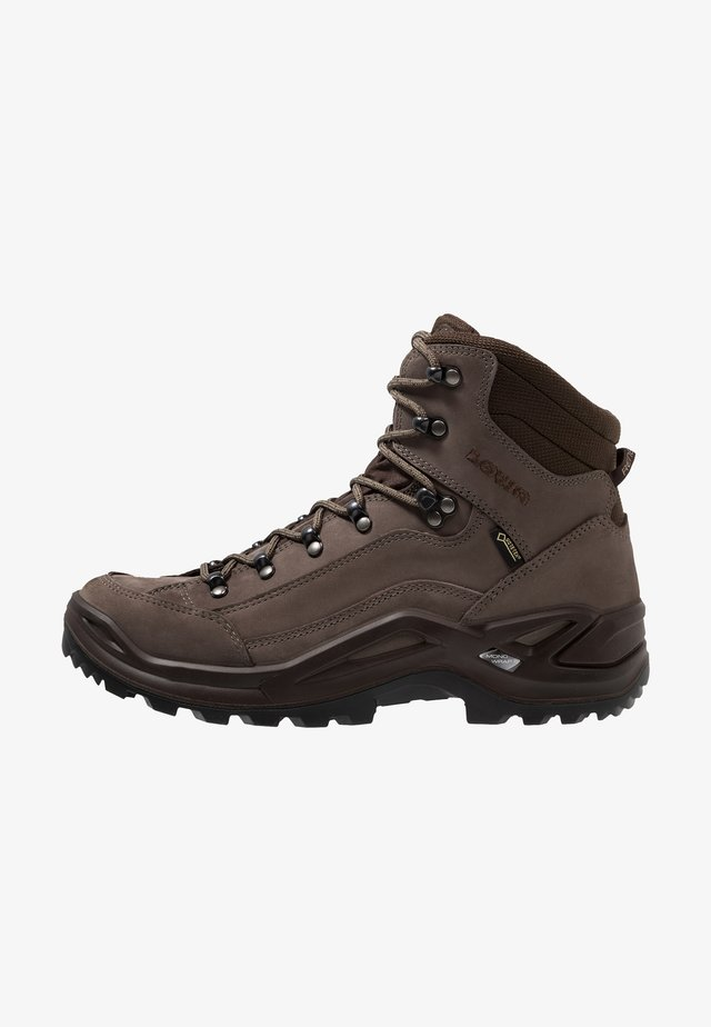 RENEGADE GTX MID - Hiking shoes - stein/espresso