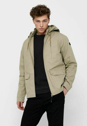 Outdoor jacket - chinchilla