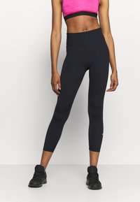 Nike Performance - ONE CROP 2.0 - Legginsy - black - 0