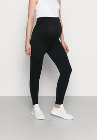 Anna Field MAMA - Spodnie treningowe - black - 0