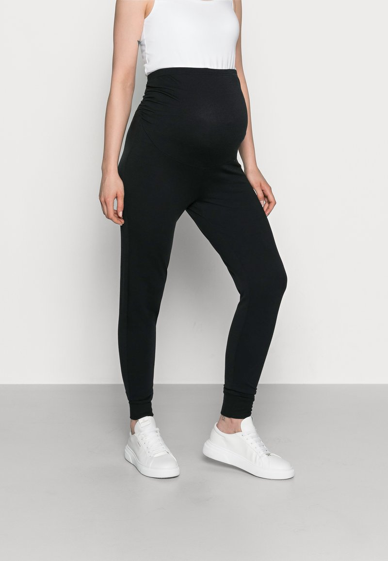 Anna Field MAMA - Tracksuit bottoms - black
