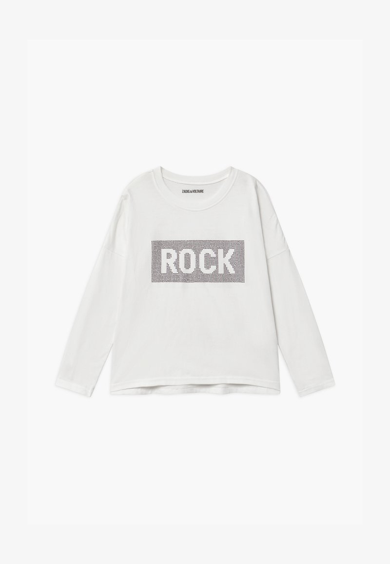 Zadig & Voltaire - LONG SLEEVE  - Long sleeved top - white
