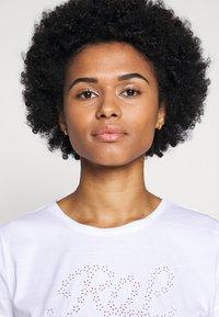 Lauren Ralph Lauren - UPTOWN - Print T-shirt - white - 3
