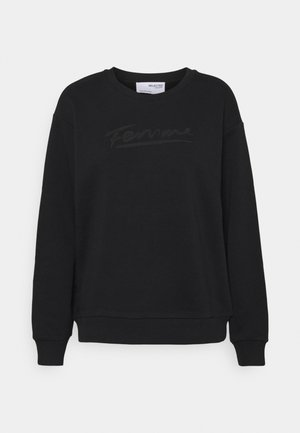SLFARTISTA CAMILLE  - Sweatshirt - black