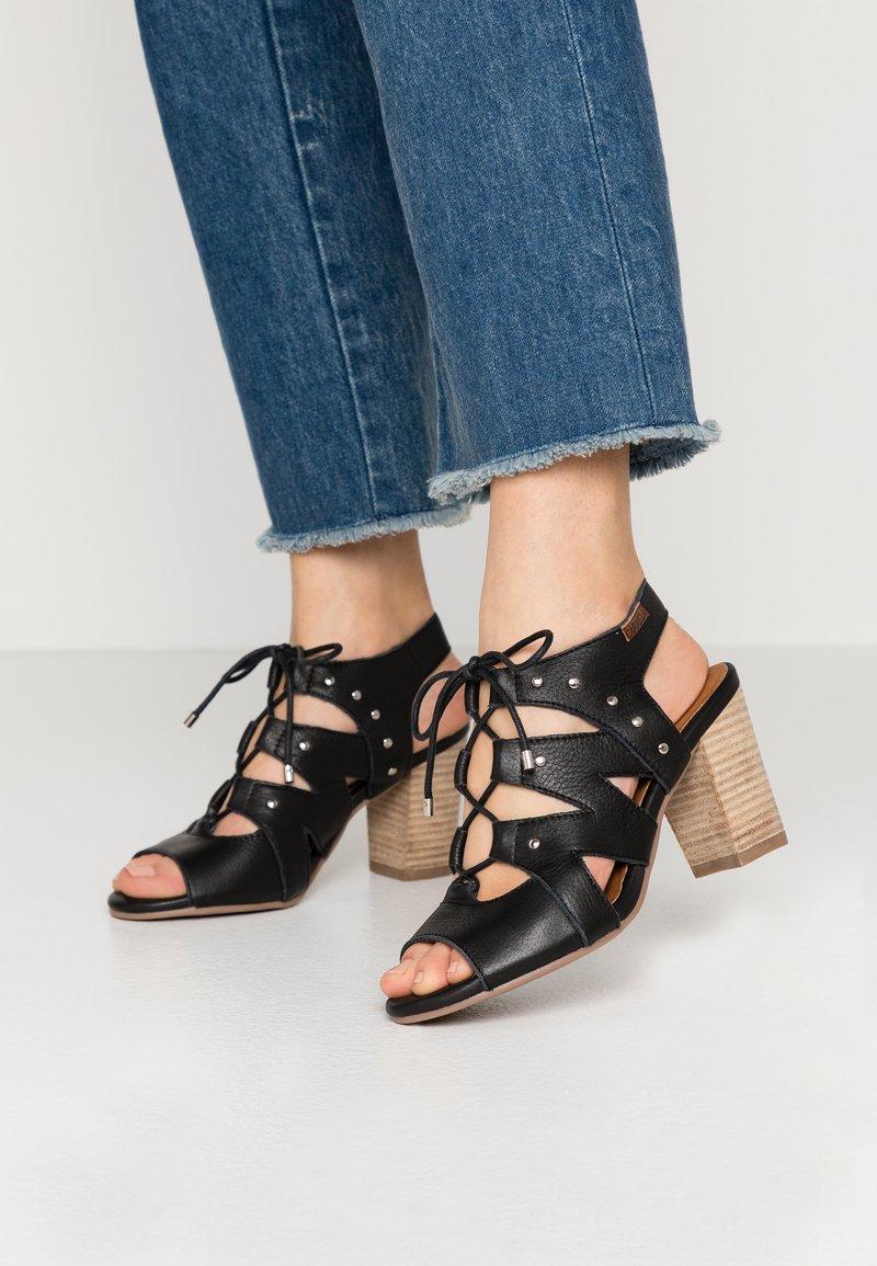 Carmela - High heeled sandals - black
