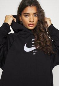 Nike Sportswear - HOODIE  - Felpa con cappuccio - black/white - 3