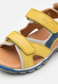 Froddo - KARLO  - Sandalias de senderismo - yellow - 5