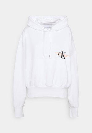 URBAN LOGO HOODIE - Sweat à capuche - bright white