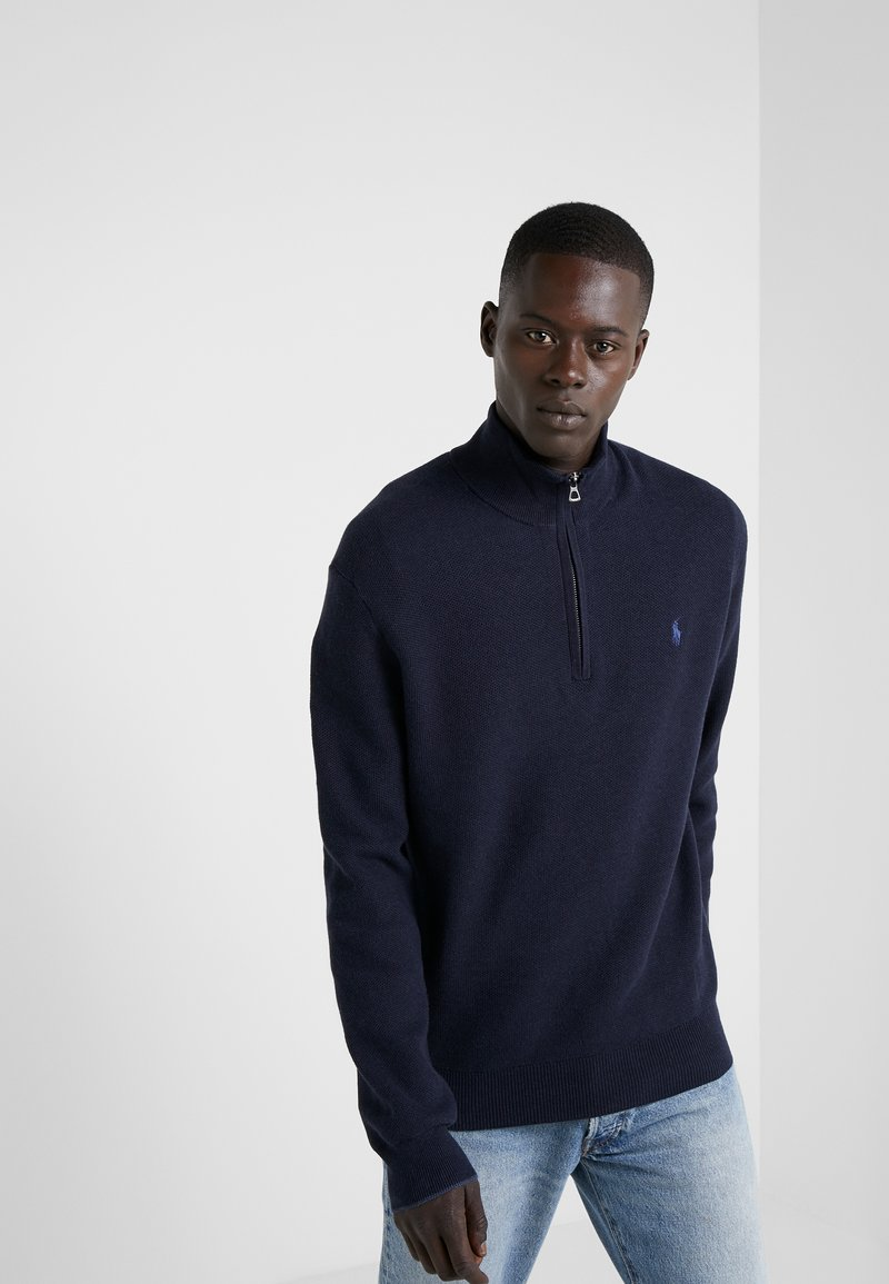 Polo Ralph Lauren - PIMA TEXTURE - Strickpullover - navy heather