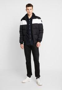 Calvin Klein Jeans - MODERN WESTERN SHIRT - Camisa - blue black - 1
