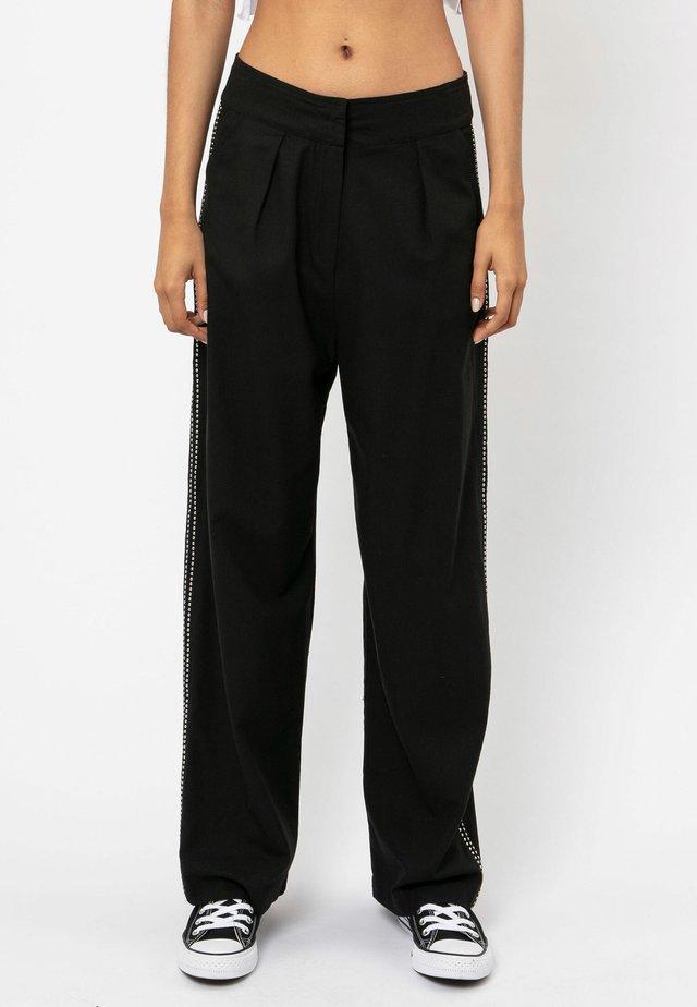 SUNRISE  - Spodnie materiałowe - jet black