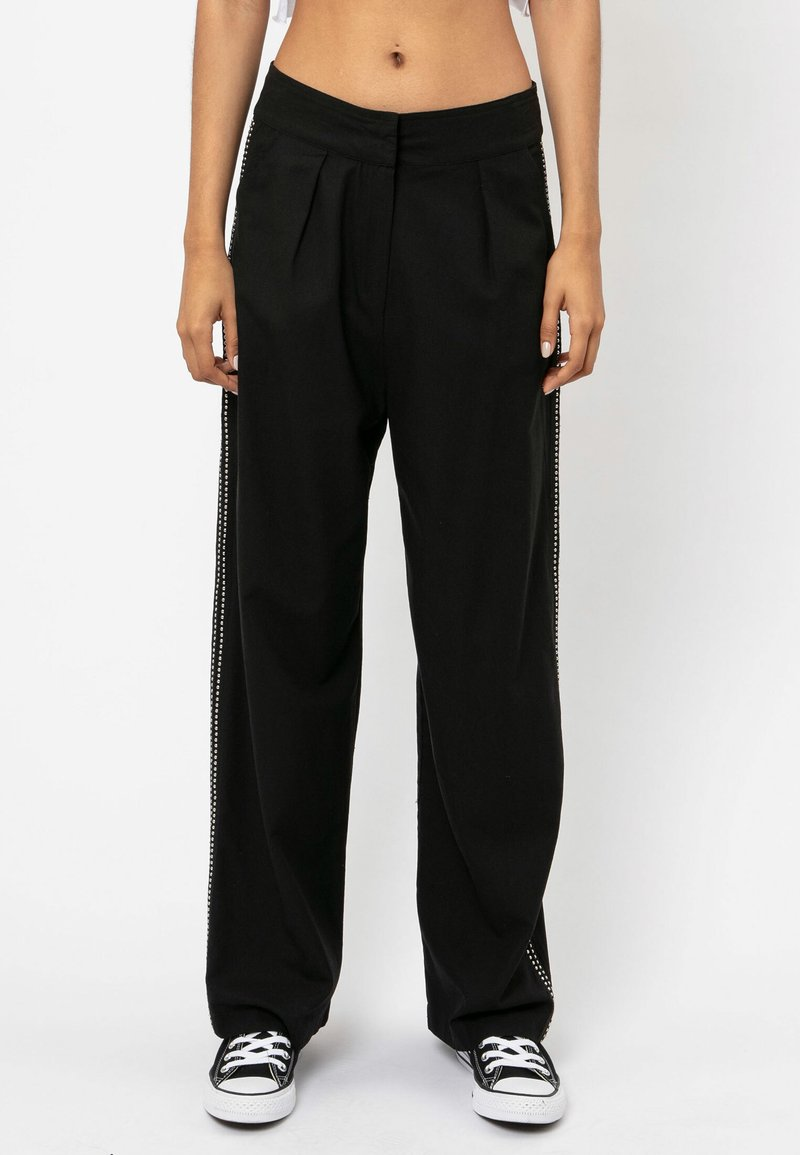 Religion - SUNRISE  - Trousers - jet black