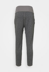 Puma - STUDIO JOGGER - Tracksuit bottoms - charcoal gray heather - 6