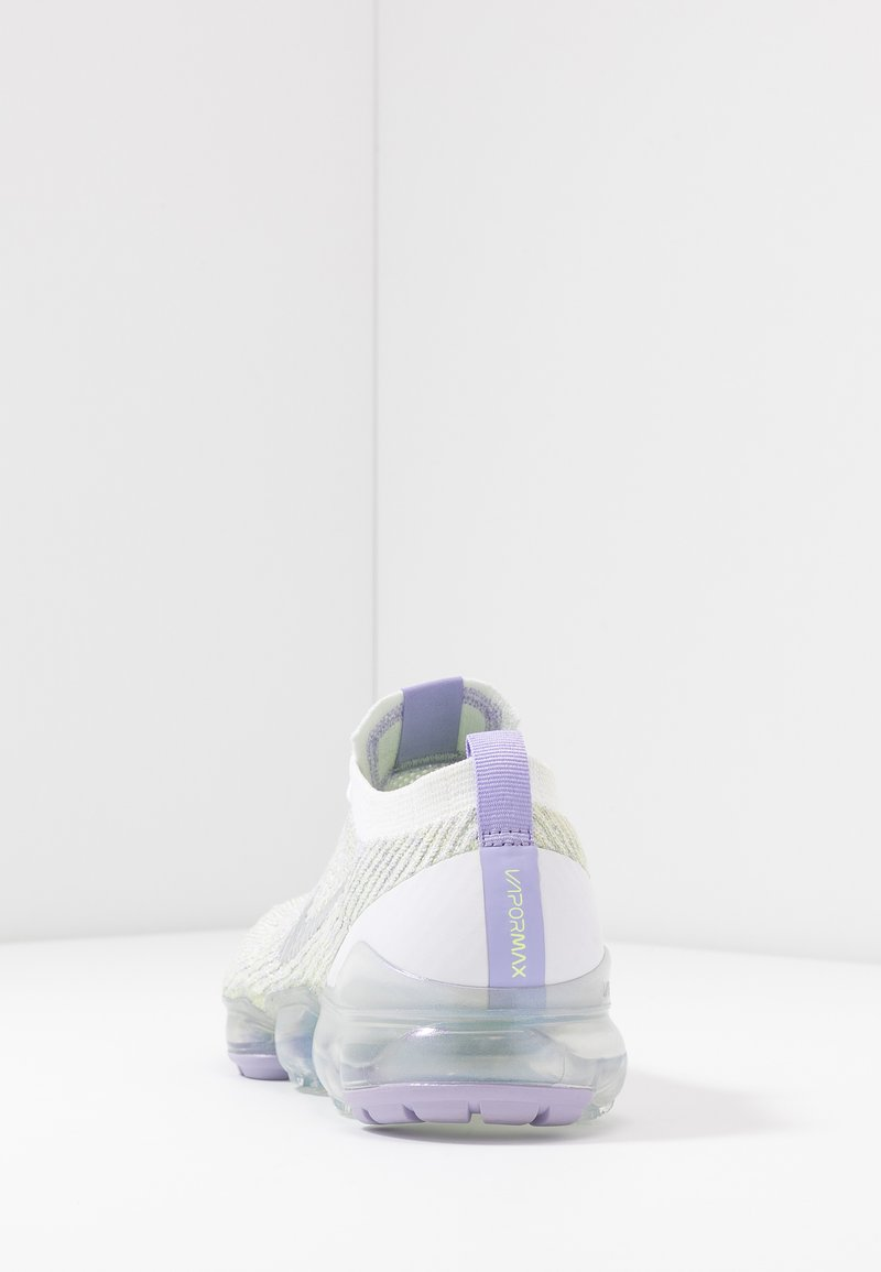 Ausencia Pies suaves Desmantelar  Nike Sportswear AIR VAPORMAX FLYKNIT - Trainers - true white/barely volt/ purple agate/metallic silver/white - Zalando.co.uk