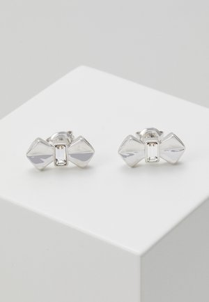 SUSLI BOW STUD EARRING - Earrings - silver-coloured