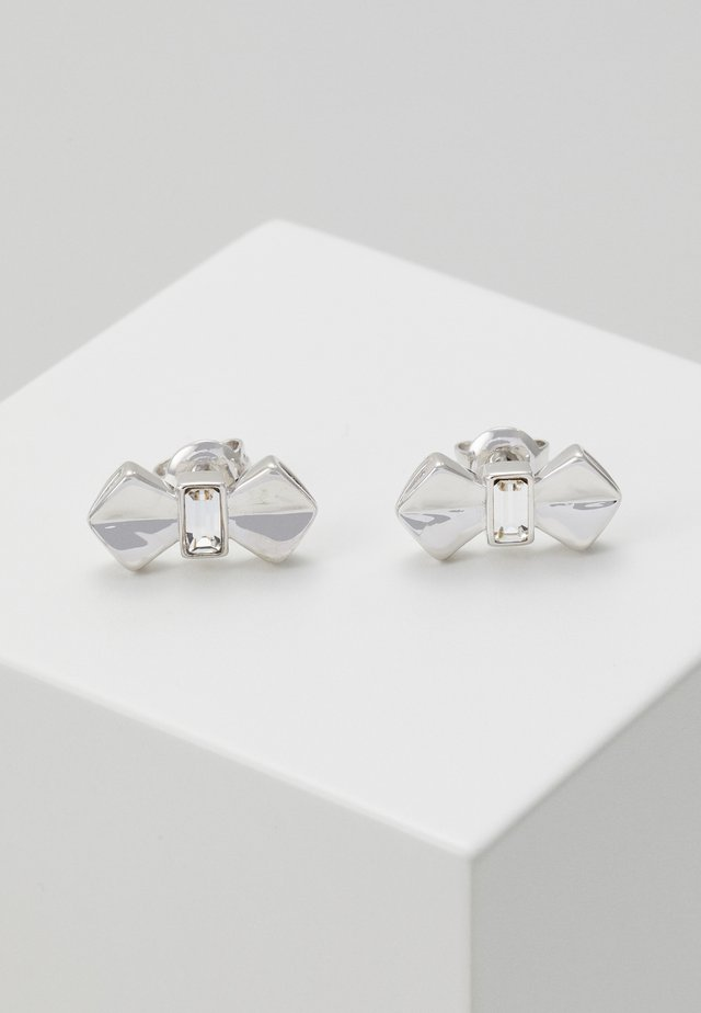 SUSLI BOW STUD EARRING - Náušnice - silver-coloured