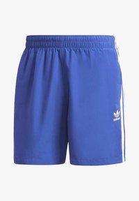adidas Originals - 3-STRIPES SWIM SHORTS - Szorty kąpielowe - blue - 7