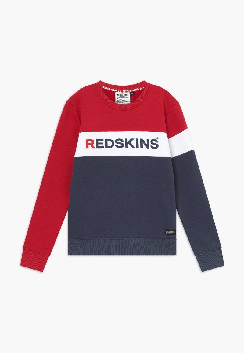 Redskins - FRIENDLY - Sweatshirt - red/navy