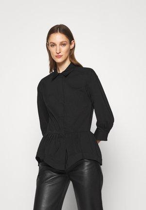 CHIARA LOVELY BLOUSE - Button-down blouse - black