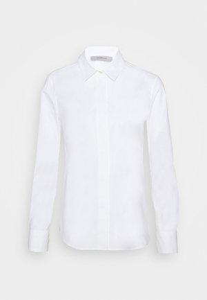 BASKET - Button-down blouse - bianco