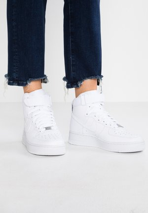 AIR FORCE 1 - Høye joggesko - white