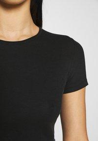 Weekday - TERESA - T-shirts - black - 4