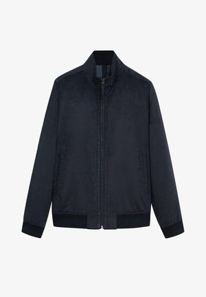 Bomber Jacket - marineblauw