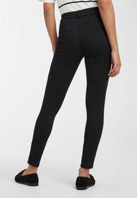 Next - BLACK FLY FASTEN JERSEY DENIM LEGGINGS - Jeans Skinny Fit - black - 1