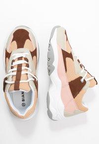 Bianco - BIADACIA FORCE - Sneakersy niskie - cognac - 3