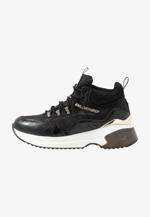 COMET RIBERS - High-top trainers - black