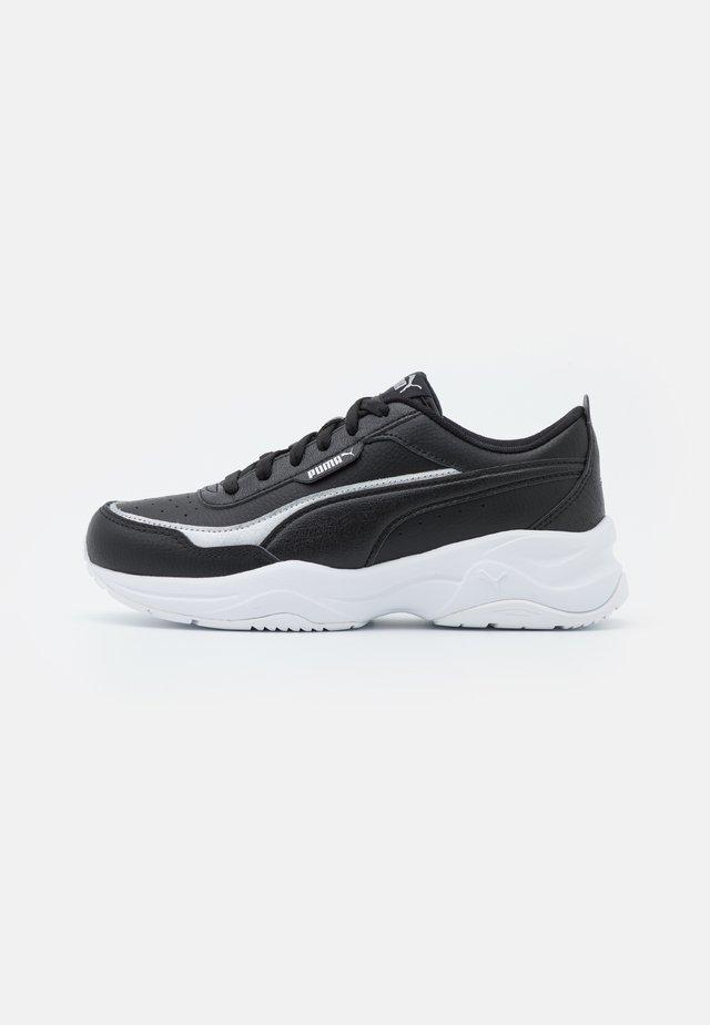 CILIA MODE LUX - Sneakersy niskie - black/silver
