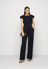 Lauren Ralph Lauren - LUXE TECH CREPE-JUMPSUIT - Combinaison - lighthouse navy - 1
