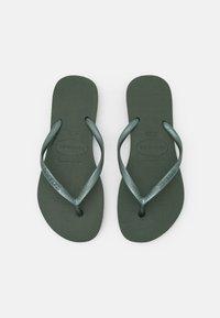 Havaianas - KIDS SLIM - Pool shoes - olive green - 5