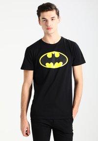 Mister Tee - BATMAN - Print T-shirt - black - 0