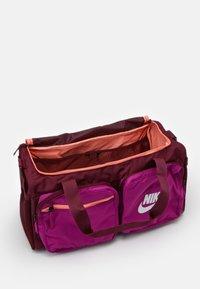 Nike Sportswear - FUTURE PRO DUFF - Sports bag - dark beetroot/cactus flower/white - 2