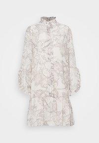 Bruuns Bazaar - IVY ROSEMARY DRESS - Shirt dress - snow white - 0